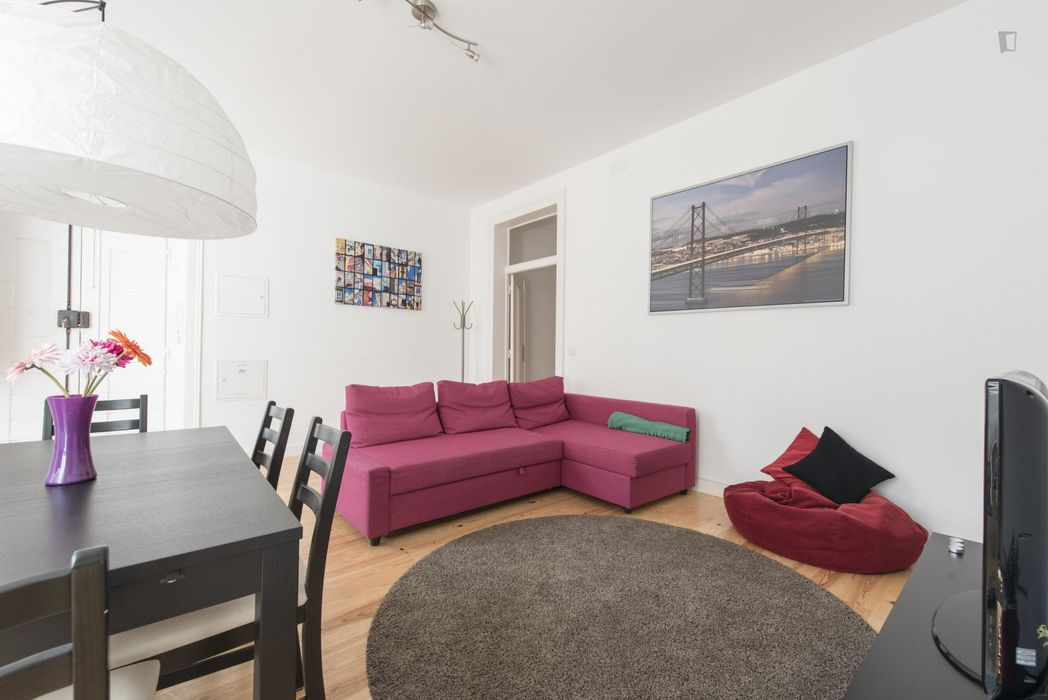 Double Bedroom in lively Cais do Sodré