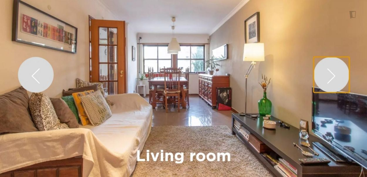 Cosy and clean single bedroom in Carcavelos