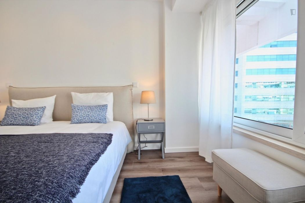 Modern 1-bedroom apartment near Praça de Espanha metro station