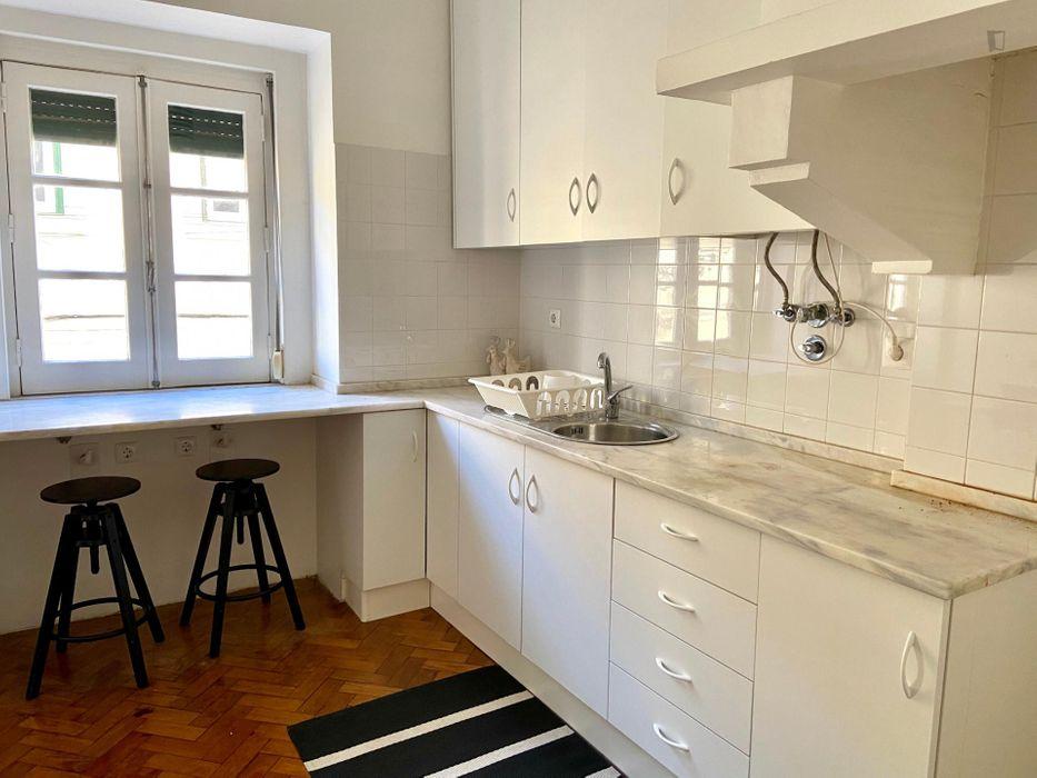 1-Bedroom apartment near Martim Moniz metro station