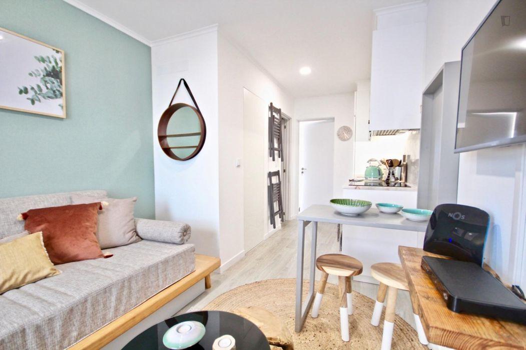 Charming 1-bedroom apartment in Alcântara