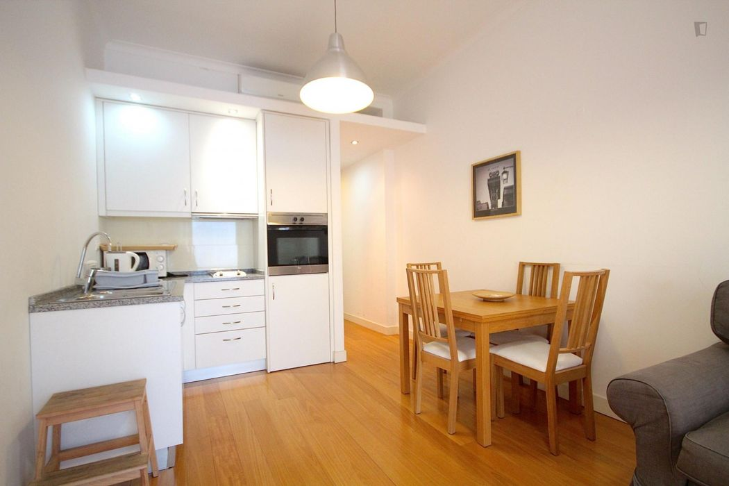 1-Bedroom apartment in trendy Lisbon's downtown area