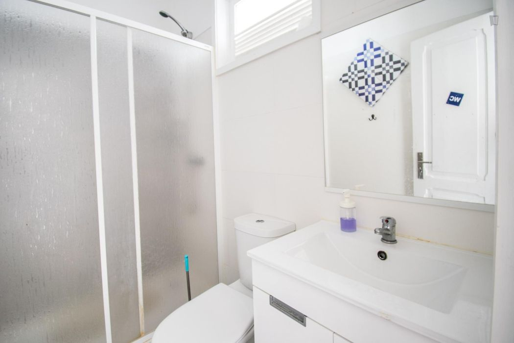 Cozy single room in residential area and also close to metro