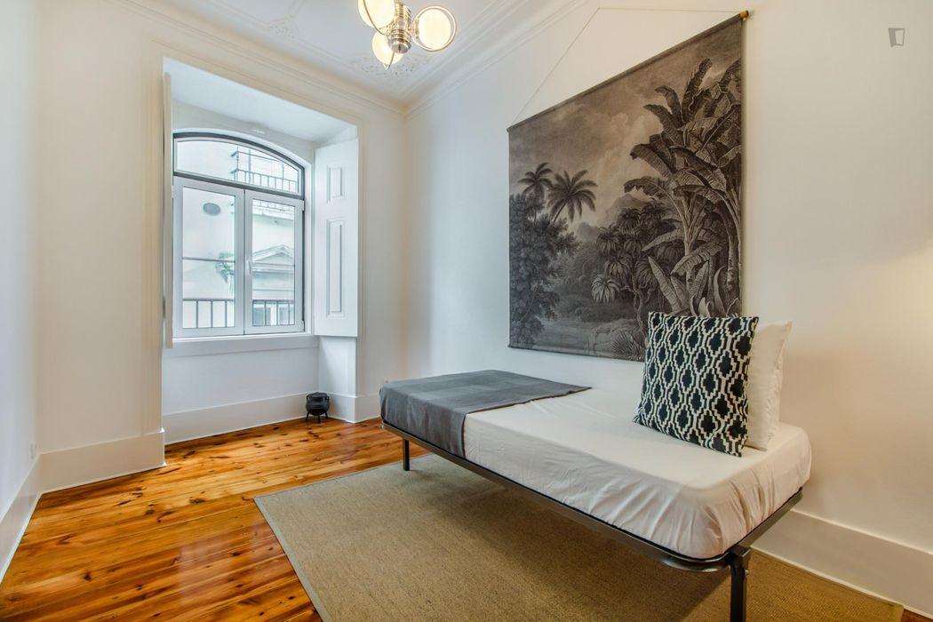 Nice 2-bedroom apartment near Praça Luís de Camões