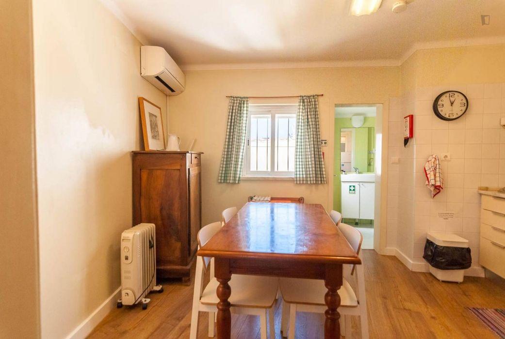Bright 2 bedroom apartment close to Martim Moniz