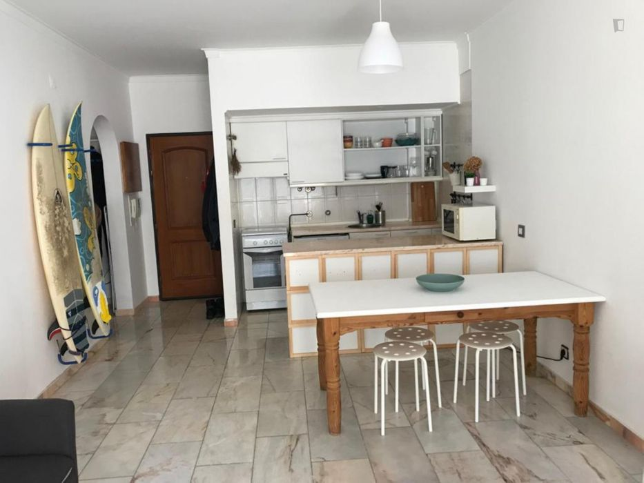 Nice 1 bedroom apartment with a view in Costa da Caparica