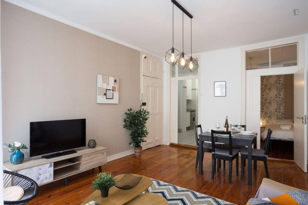 Chiado downtown cozy apartment with AC