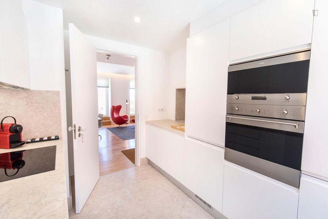 Modern 2-bedroom apartment in Bairro Alto