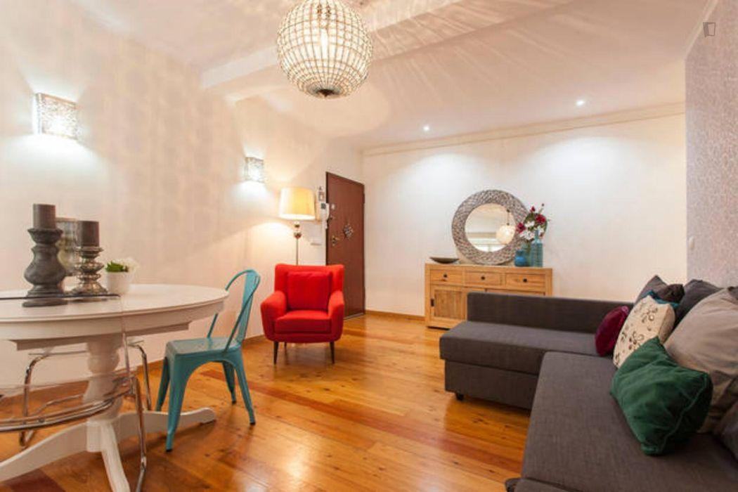 1-Bedroom apartment near Arco da Rua Augusta