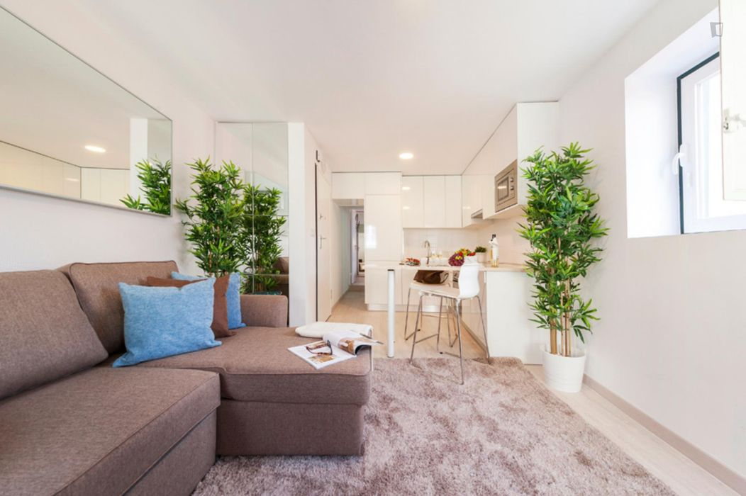 Modern 1-Bedroom Apartment in the Heart of Lisbon