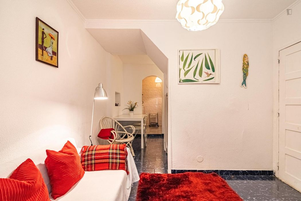 Bright one-bedroom apartment