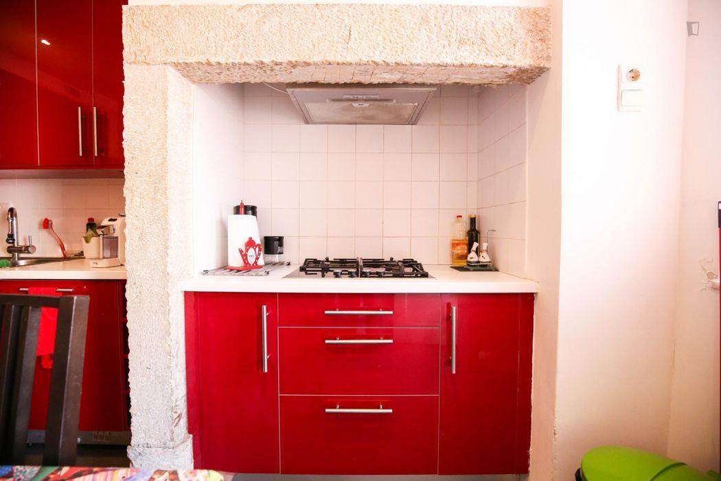 Spacious twin bedroom in Martim Moniz