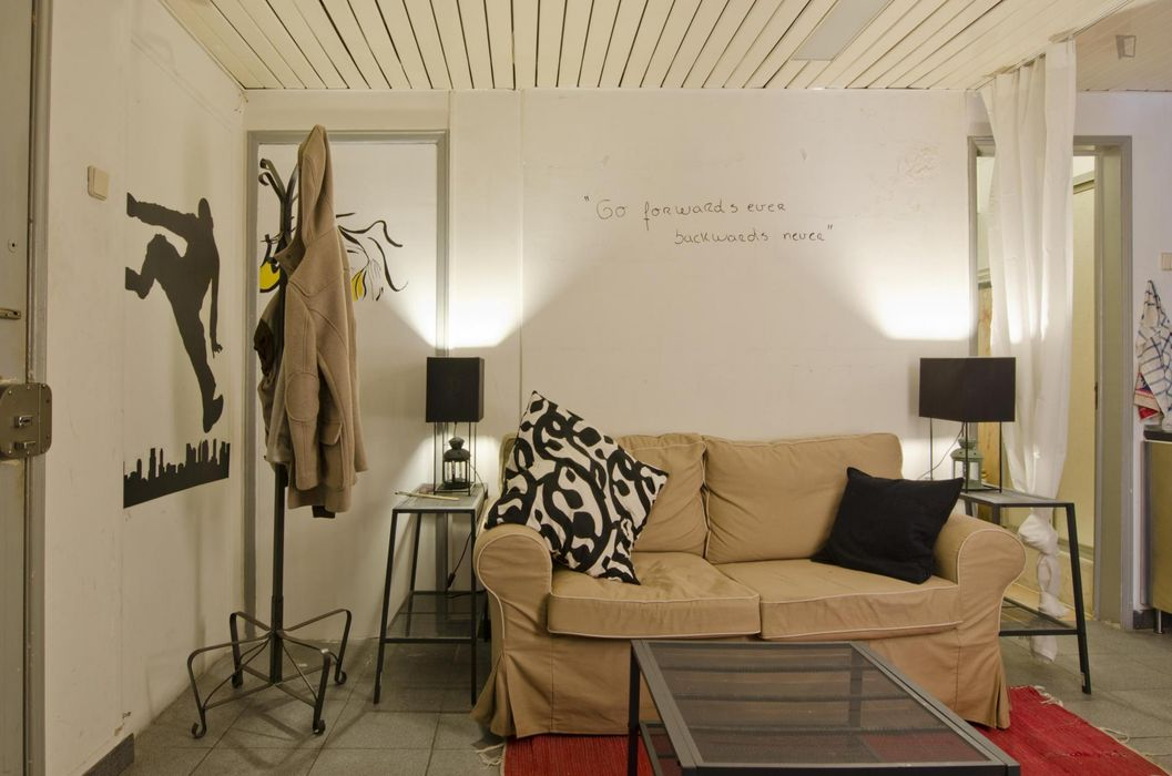 Cosy double bedroom, in a 4-bedroom apartment, in Saldanha