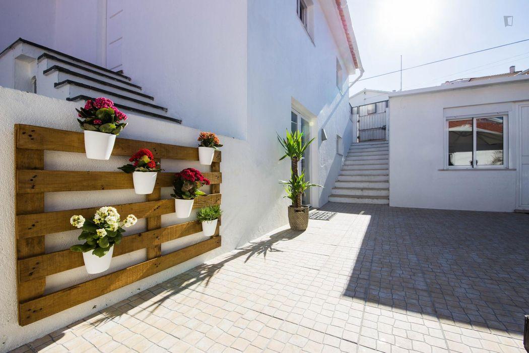 Studio in Estoril, with outdoor area