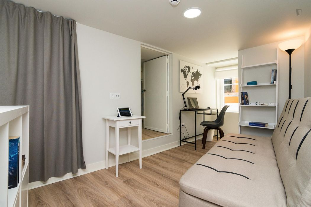 Cool 1-bedroom apartment in Alcantara