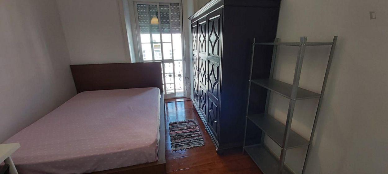 Joyous single bedroom with balcony close to IST