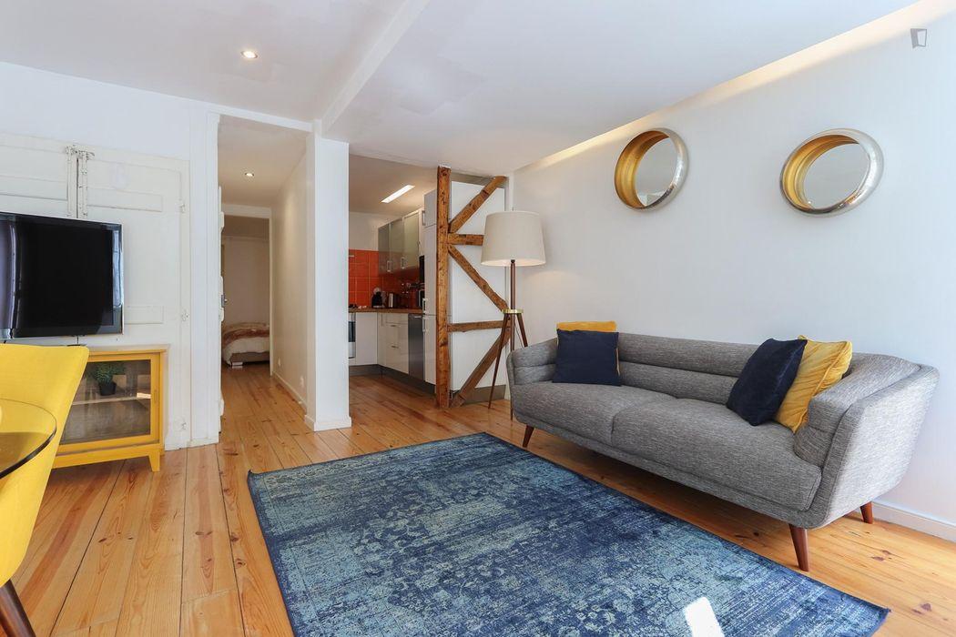 Charming 1-bedroom apartment in São Bento