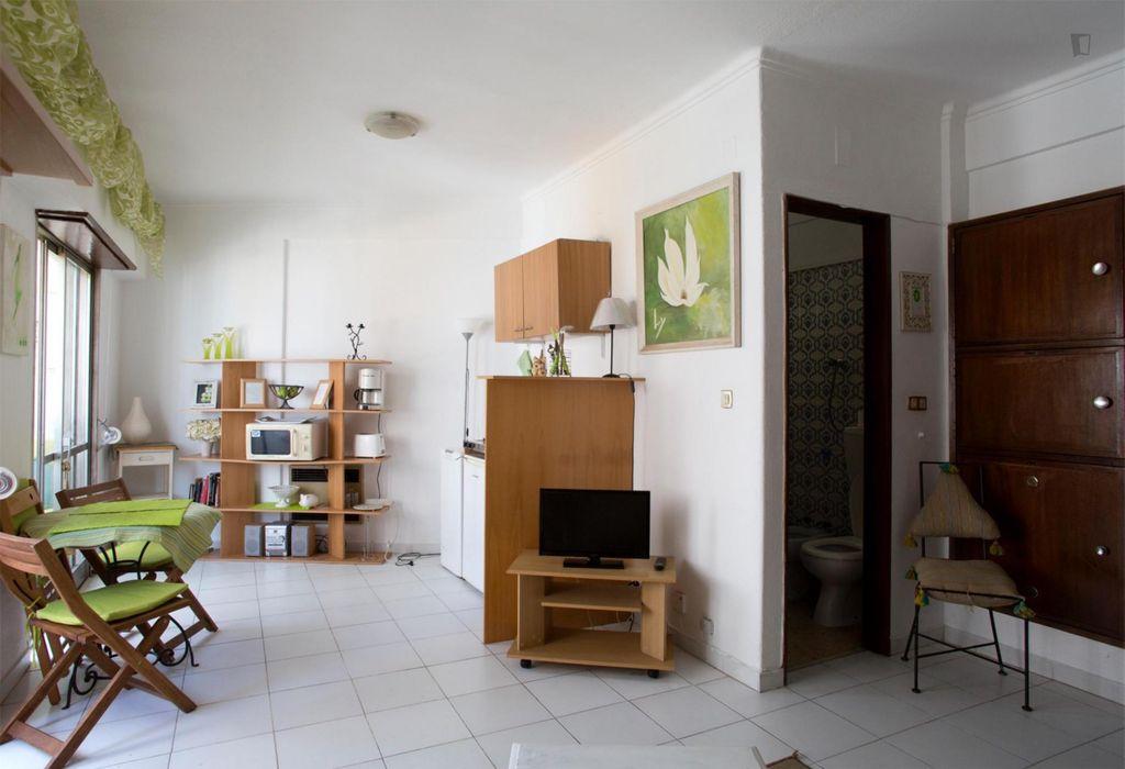 Cosy studio apartment in student-heavy Arroios