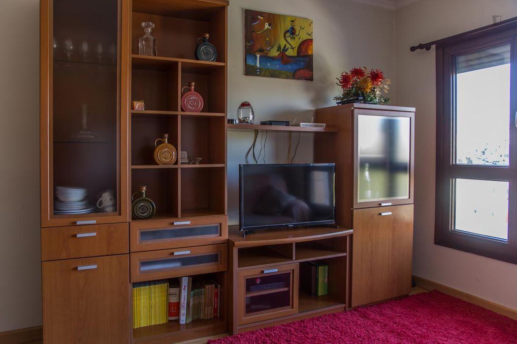Comfortable 2-bedroom, 3 beds flat in Bela Vista