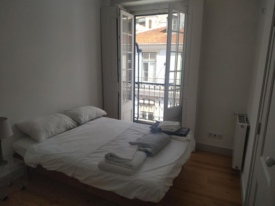 Studio, with outdoor area in the center of Lisbon, all amenities at your doorstep