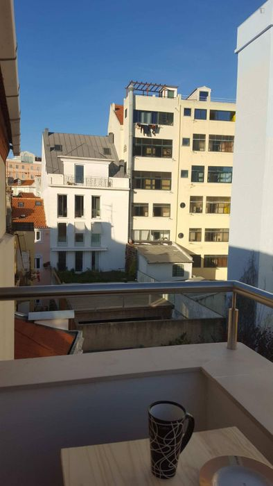Sunset view Studio apartment at Príncipe Real with 2 balconies