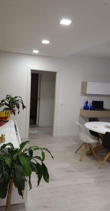 Modern double bedroom in Parque das Nações
