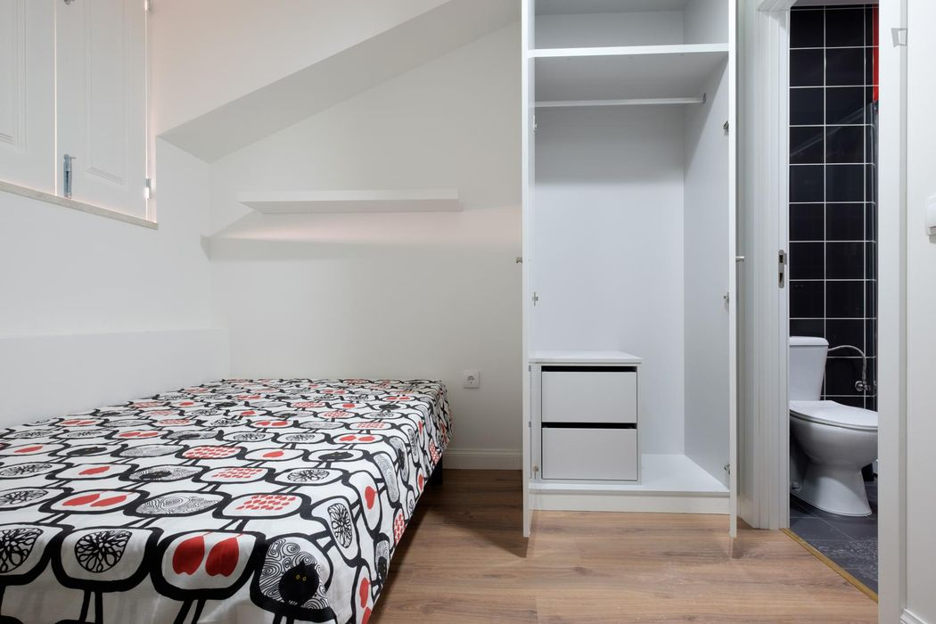 Dazzlingly decorated studio placed in quiet, residential area of the city.
