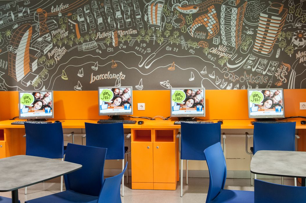 Student accommodation photo for Youth Hostel Pere Tarrés Barcelona in Les Corts, Barcelona