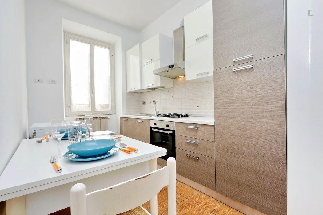 Snug and pleasant 1-bedroom apartment in Tuscolano