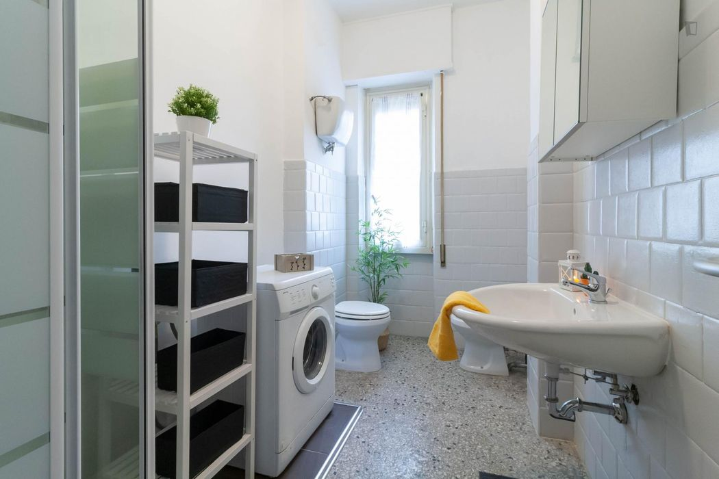 Lovely single bedroom close to Libia metro station