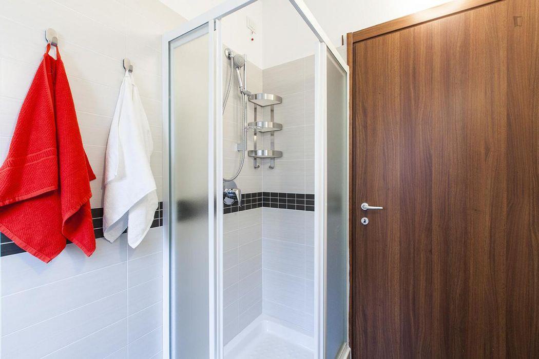 Charming single bedroom near Corvetto metro station