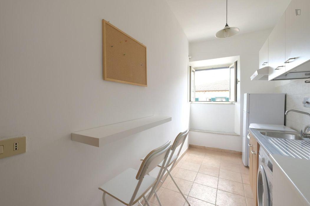 Nice double bedroom near Sapienza University