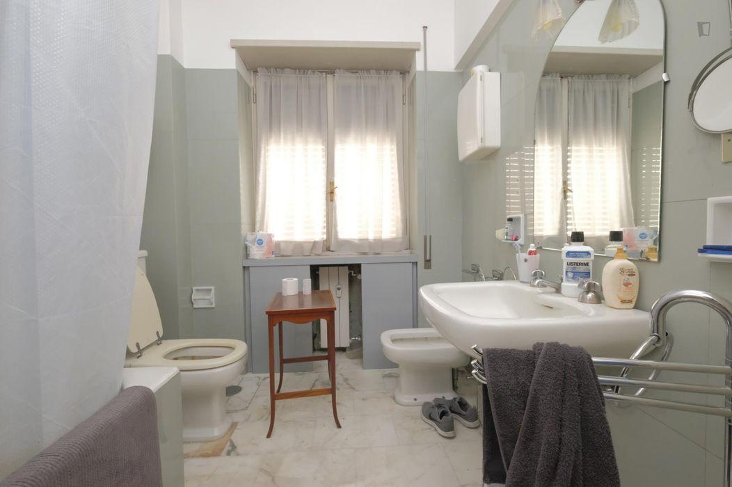 Cool double bedroom near Luiss university