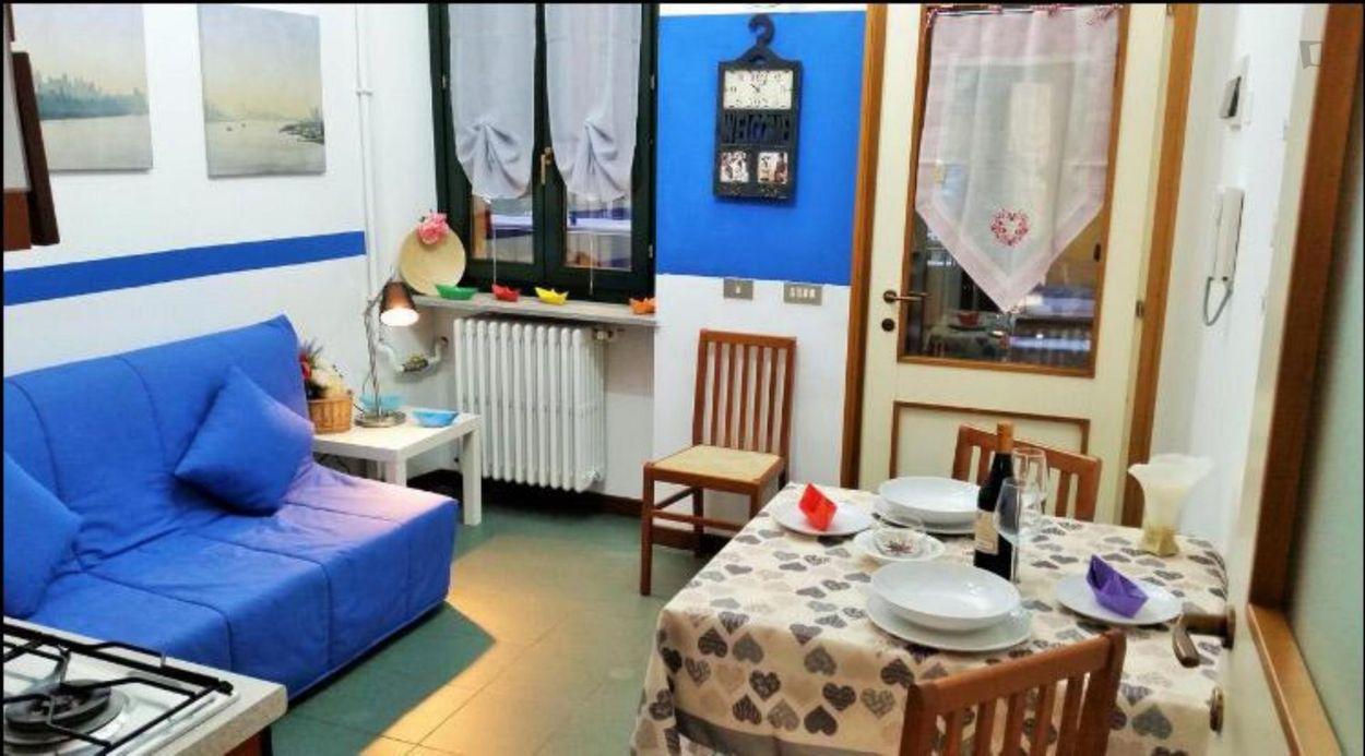 One bedroom flat in Ticinese neighbourhood