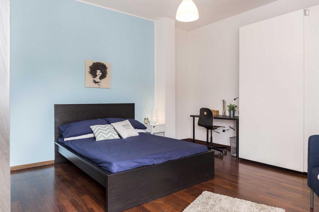 Fantastic double bedroom near Parco Urbano di Aguzzano