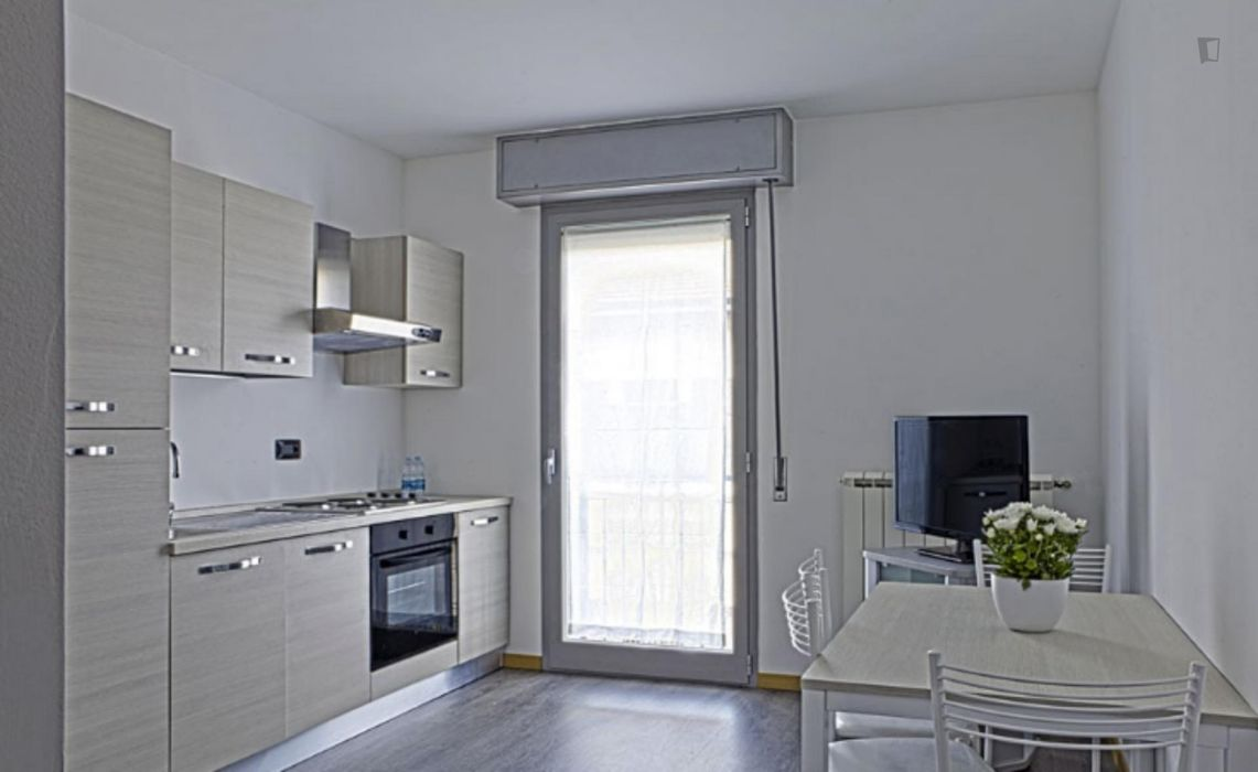 Amazing one-bedroom apartment in a Residence in Bovisa