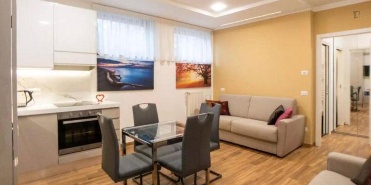 Nice 1-bedroom apartment near Sesto Marelli metro station