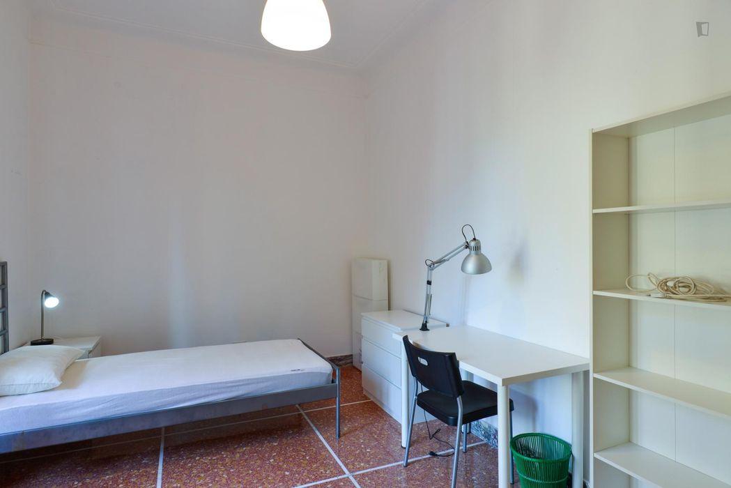 Beautiful single bedroom with a balcony, near LUISS Guido Carli