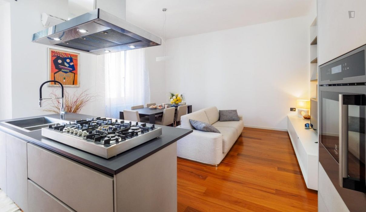Modern and lovely 1-bedroom apartment, in proximity to the Politecnico di Milano