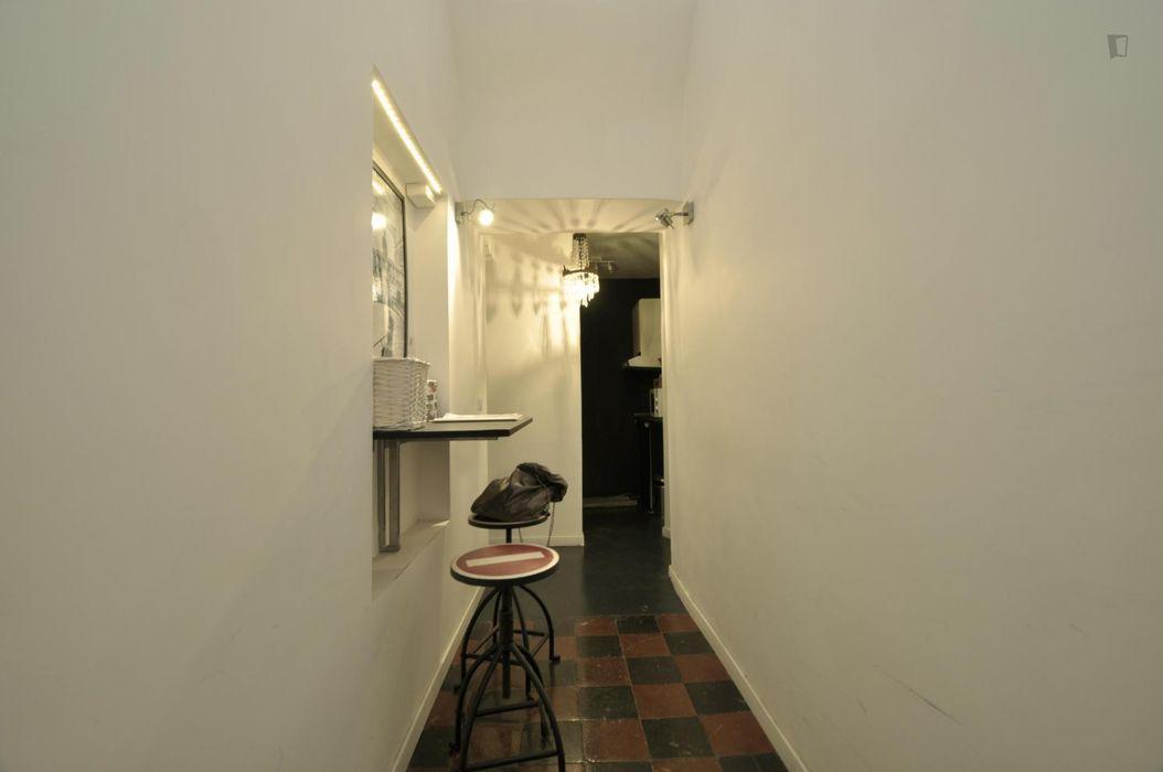 Classy double bedroom with an ensuite bathroom, in Quartiere VI Tiburtino