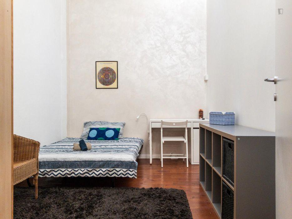 Lovely single bedroom in an amazing loft near Porta Romana