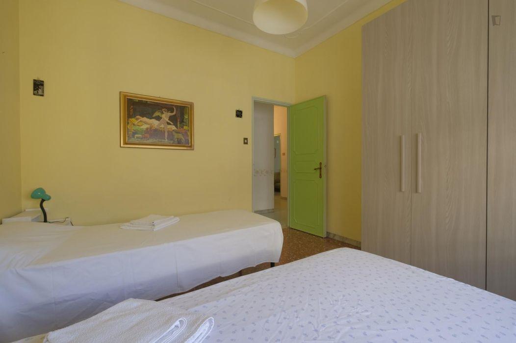 Comfy twin bedroom near Villa Lais
