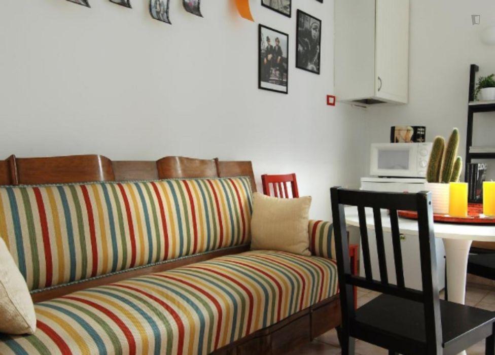 1-Bedroom apartment near the Porta Venezia metro