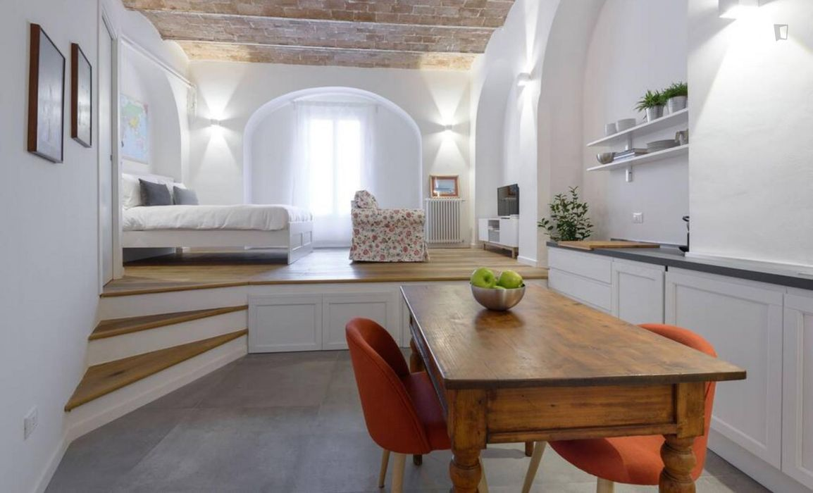 Luxurious studio in trendy Trastevere-Easy to JOHN CABOT/LUMSA/AUR
