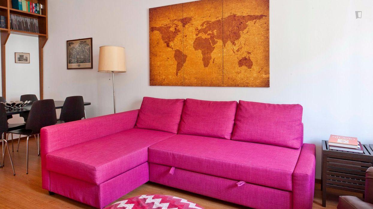 Elegant 1-bedroom apartment in Policlinico