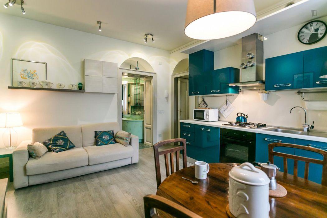 Interesting apartment near the Porta Romana metro