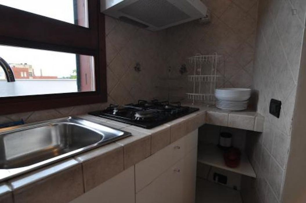 Cute and welcoming 1-bedroom apartment in the Fiera municipality