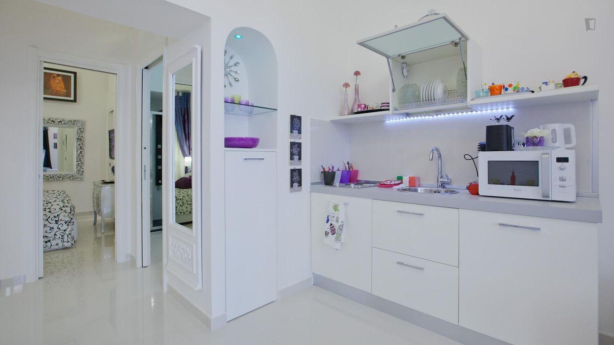 Stylish 1-bedroom apartment near Palazzo delle Esposizioni