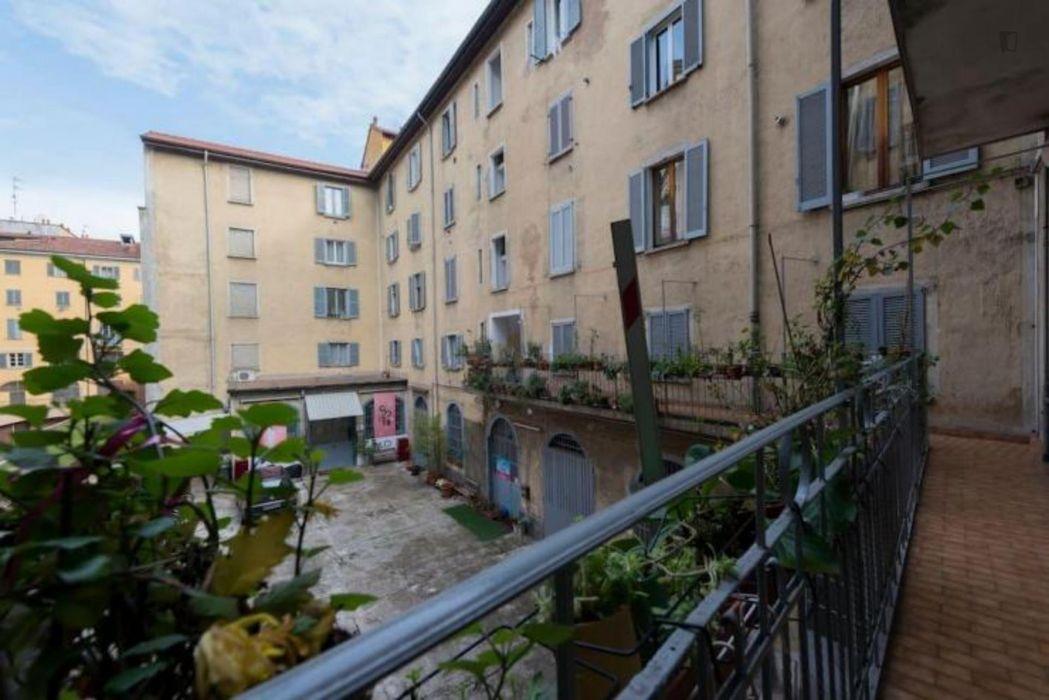 Luminous 1-bedroom flat in Navigli Area