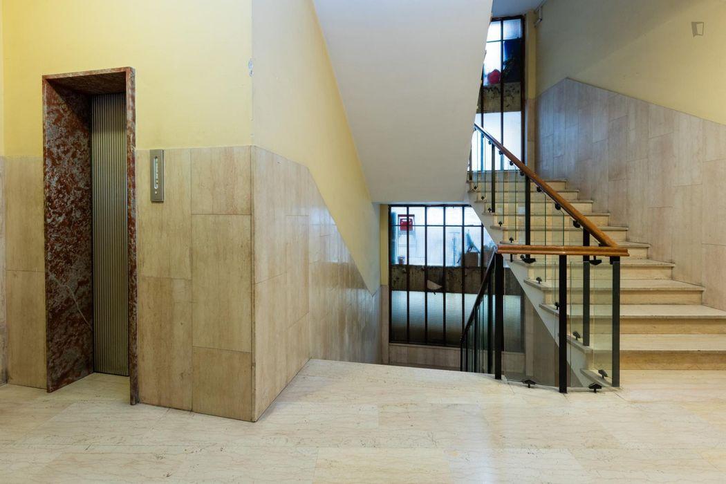 Spacious apartment close to Villa Borghese